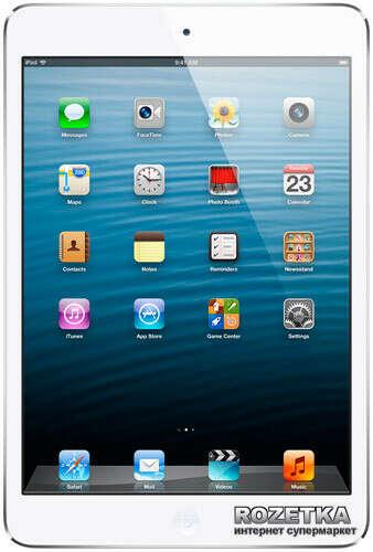 Планшет Apple A1432 iPad mini with Wi-Fi 16GB (MD531TU/A) White
