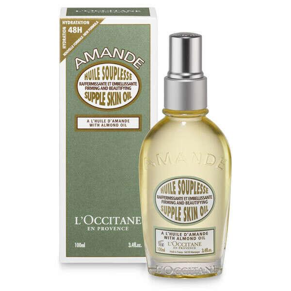 Увлажняющее масло для тела от растяжек. Купить косметическое средство для кожи с маслом миндаля. Подходит для беременных | L'OCCITANE en Provence | Russia