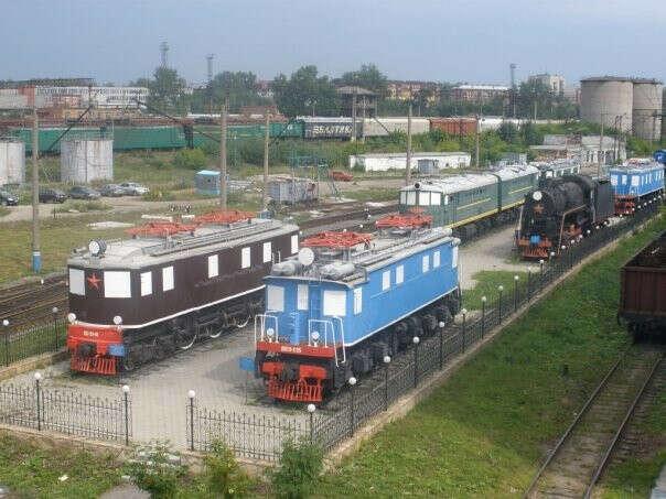 Посетить Екатеринбургский музей железнодорожного транспорта