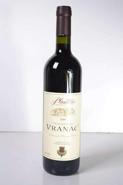 Ящик вина Вранац (Сербия) красное сухое