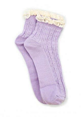 Сиреневые носочки