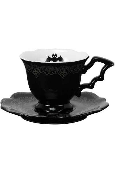 After Midnight Tea Cup & Saucer
