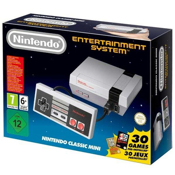 Игровая приставка Nintendo Консоль NES Classic Mini