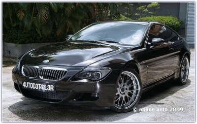 Машина BMW M6