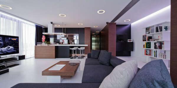 Уютную стильную городскую квартиру