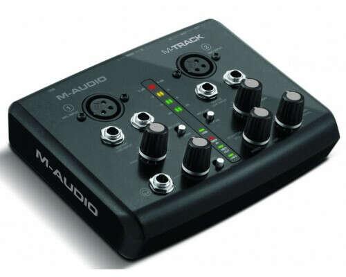 Аудио интерфейс M-AUDIO M-TRACK