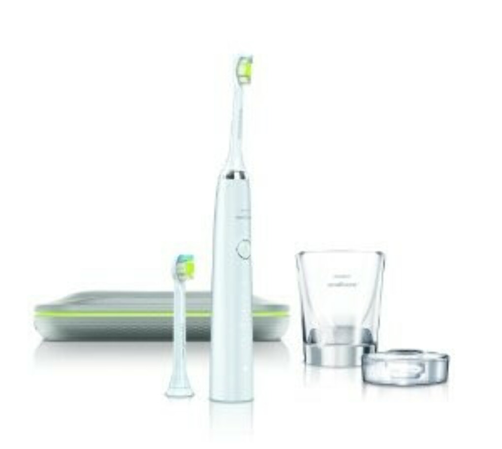 Philips Sonicare DiamondClean rechargeable electric toothbrush, White Edition, HX9332
