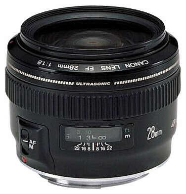 CanonEF 28mm f/1.8 USM— купить на Яндекс.Маркете