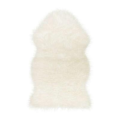 Искусственная овечья шкура, белый «ТЕЙН»  ИКЕА