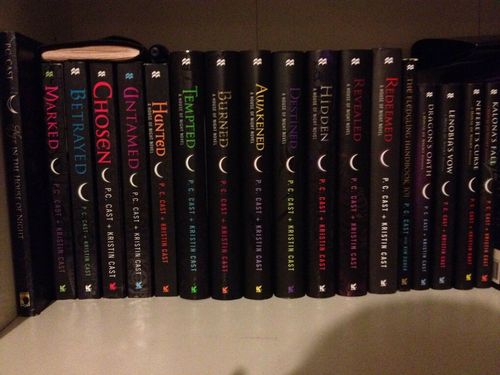 The House of Night book №8-12