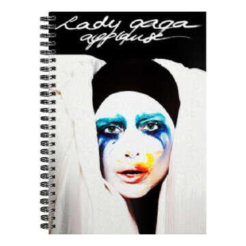 Notebook: Lady Gaga-Applause (А5)