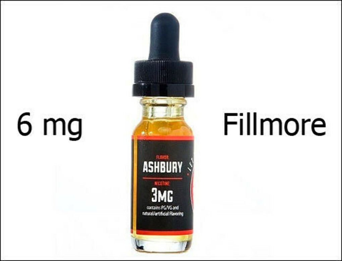 Жидкость Frisco Vapor, Fillmore, 15 мл (6 мг/мл)