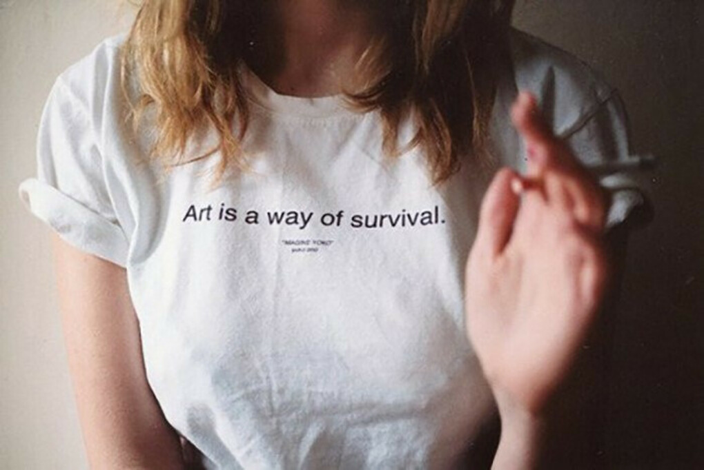 Футболка Art is a way of survival