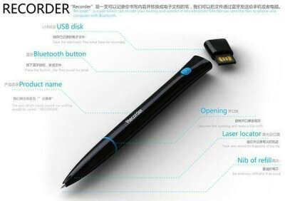 ручку, которая запоминает то что пишет