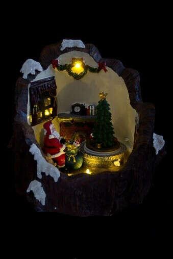 Украшение новогоднее светящееся «Время подарков»