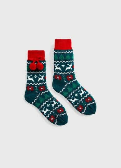 Теплые носки на зиму
