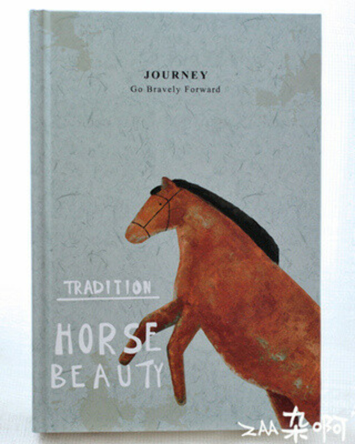 блокнот с лошадкой
