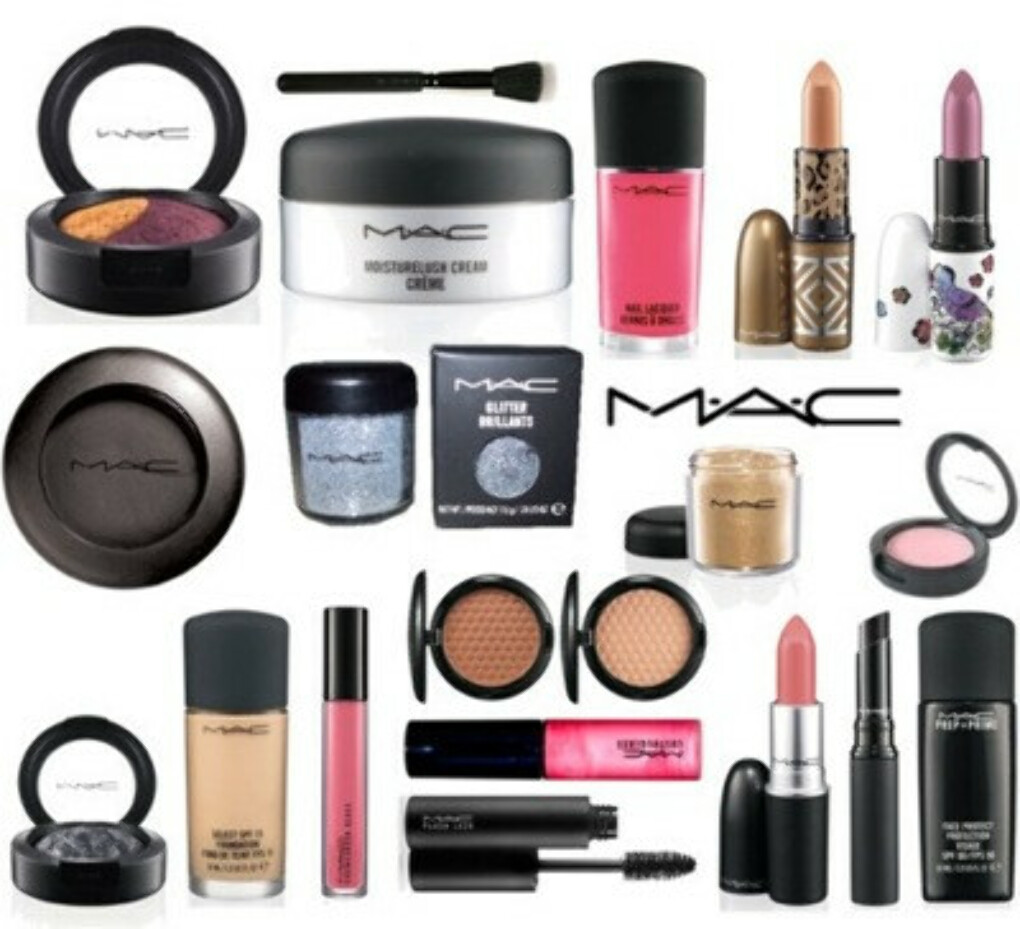 MAC beauty products