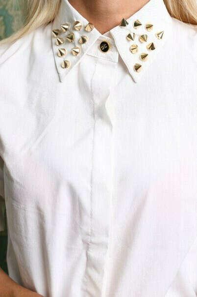 Хочу рубашку с шипами на воротнике