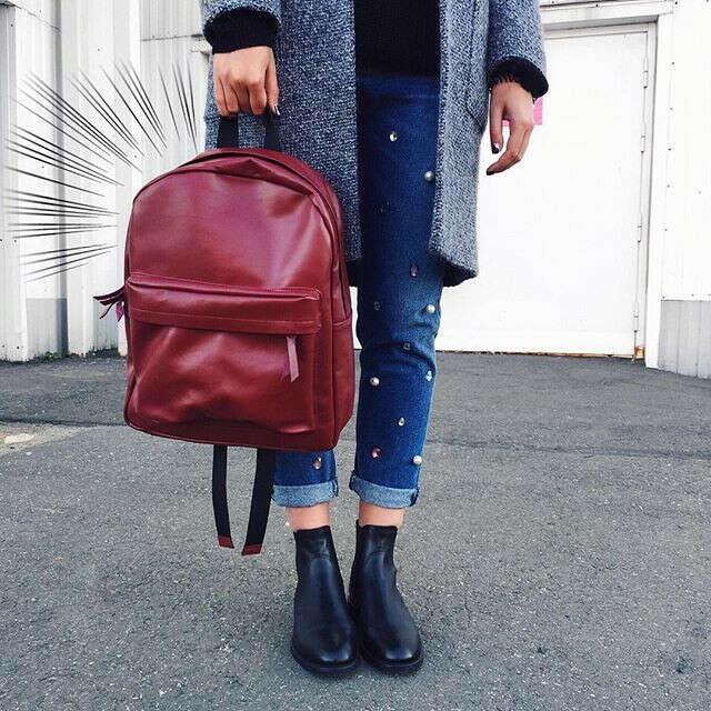 Кожаный рюкзак b for bags