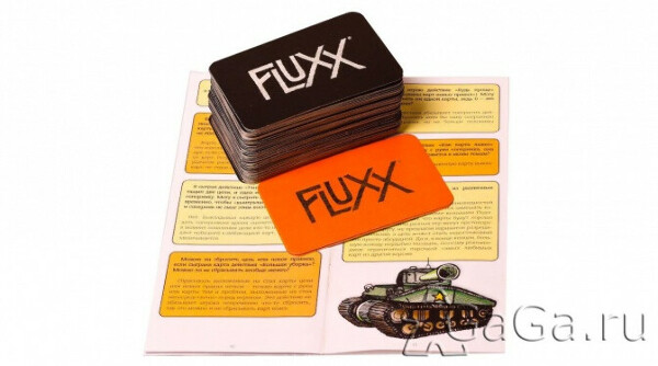 Карточная настольная игра Fluxx