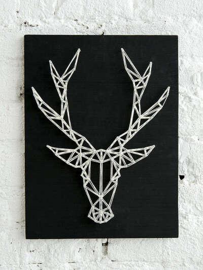 Набор для творчества стринг арт Олень (минимализм), Meitoku