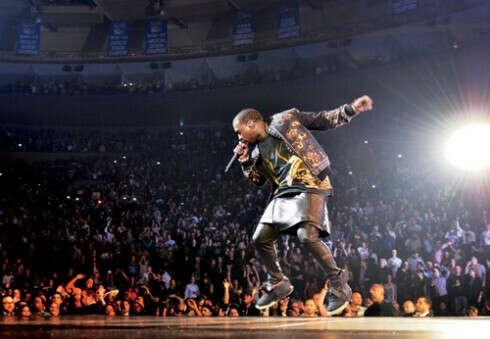 концерт Kanye West