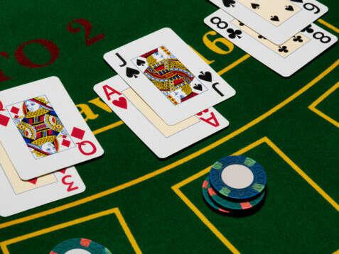 Сыграть в блэкджек в казино