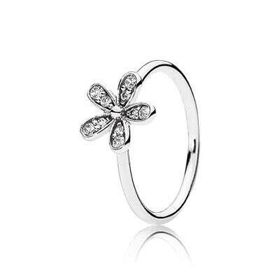 PANDORA | Кольцо «Сверкающая маргаритка»