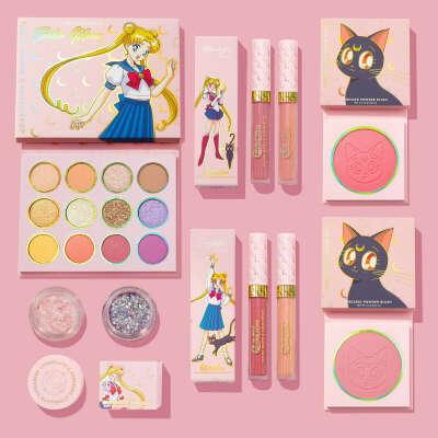 Косметика Color Pop в коллаборации с Sailor Moon