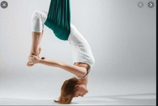 абонемент на 12 занятий на аэро йогу