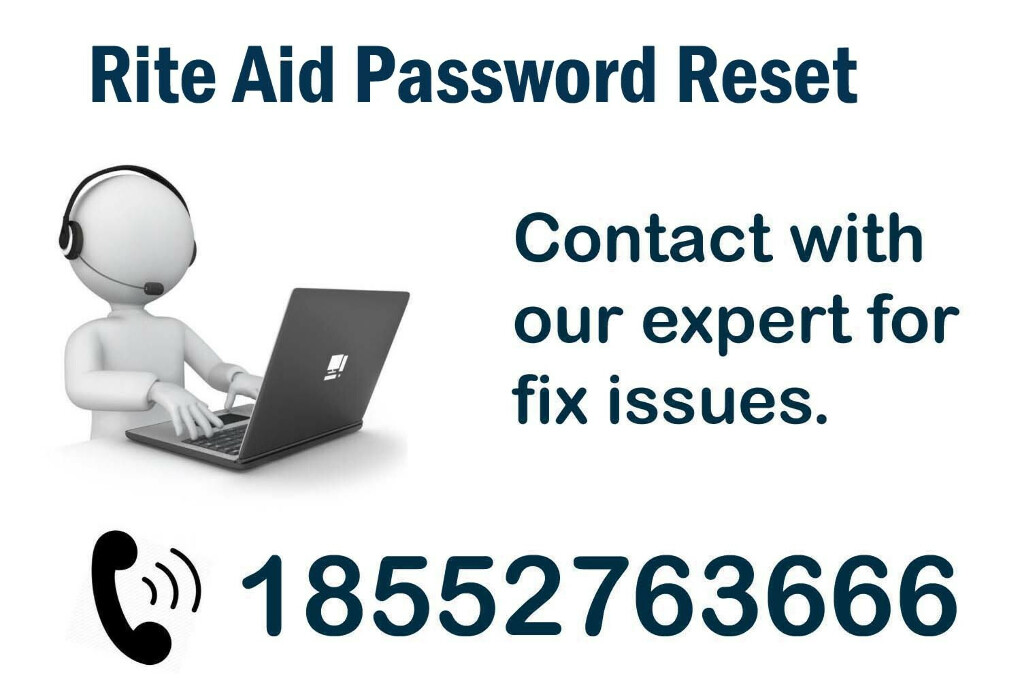 Rite Aid Password Reset ? Dial 1-855-276-3666