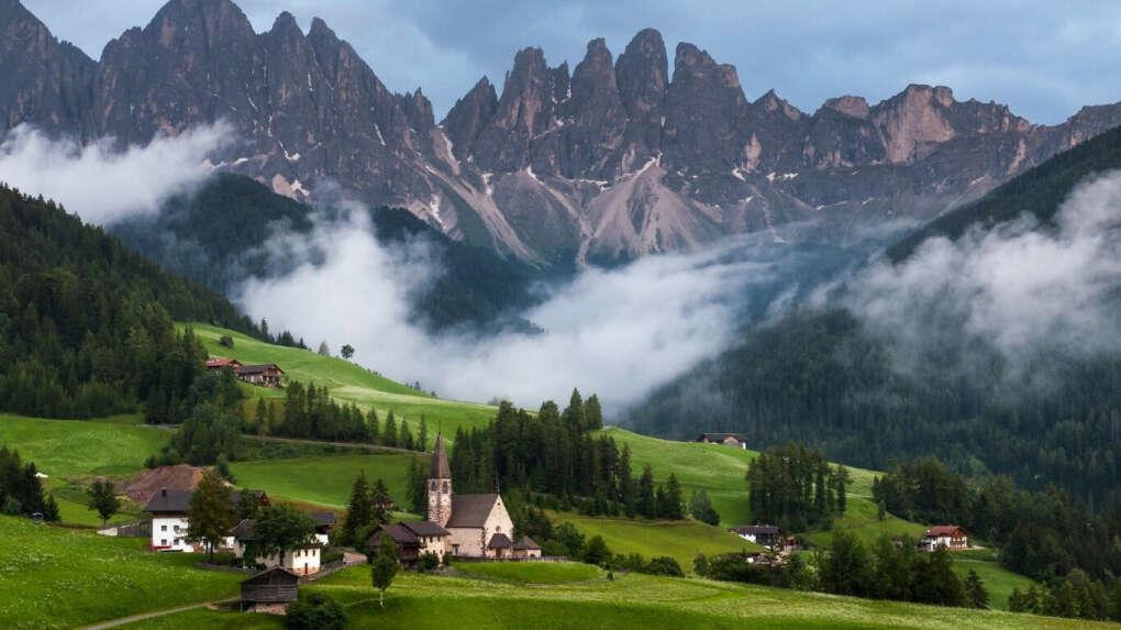 Доломитовые Альпы Италии