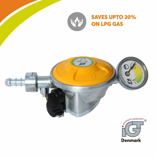 IGT STRIVING FOR PERFECTION Gas Safety Device for All Domestic Cylinders