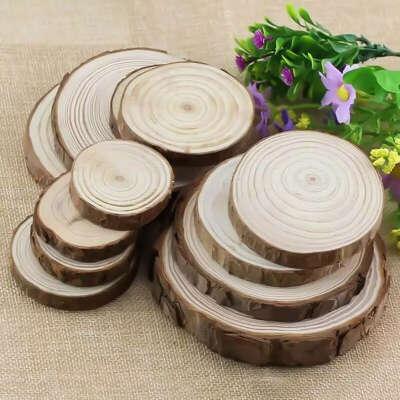 Small wooden circles