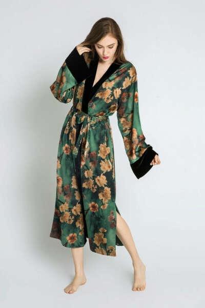 Шёлковый халат