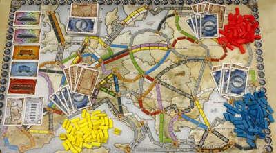 Настольная игра Билет на Поезд по Европе (Ticket to Ride Europe) - купить, правила, цена, отзывы, обзор | GaGaGames - магазин настольных игр в Санкт-Петербурге