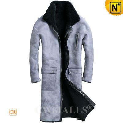 Sheepskin Coat   Custom Sheepskin Coat Reversible Design CW828635   CWMALLS®