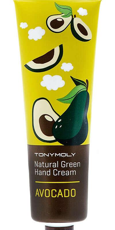 Natural Green Hand Cream Avocado