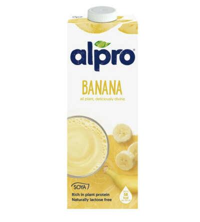 Банановое молоко Alpro
