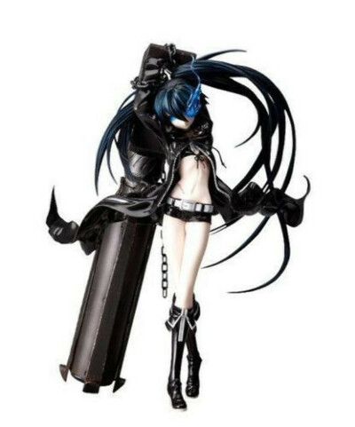 Black Rock Shooter 1/8 Scale PVC Figure With Cannon