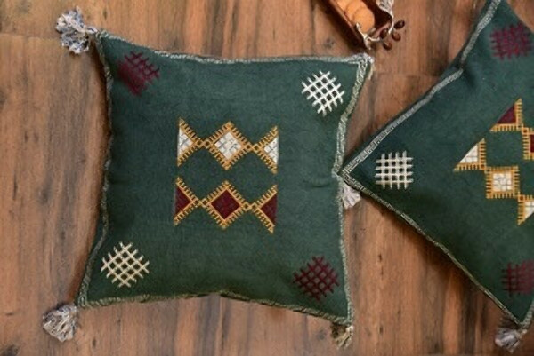Moroccan Love Cushion Cover – Set of 2
