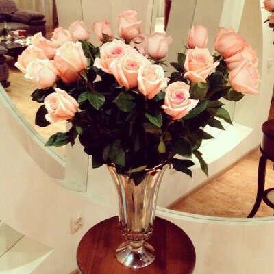 Большой букет любимых цветов