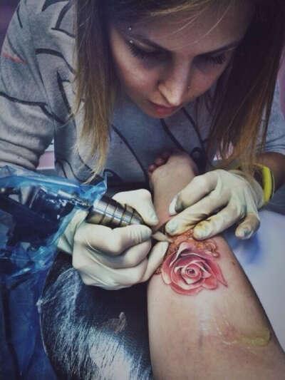 Набить татуировку !