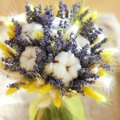 Букет из сухоцветов Cotton memories
