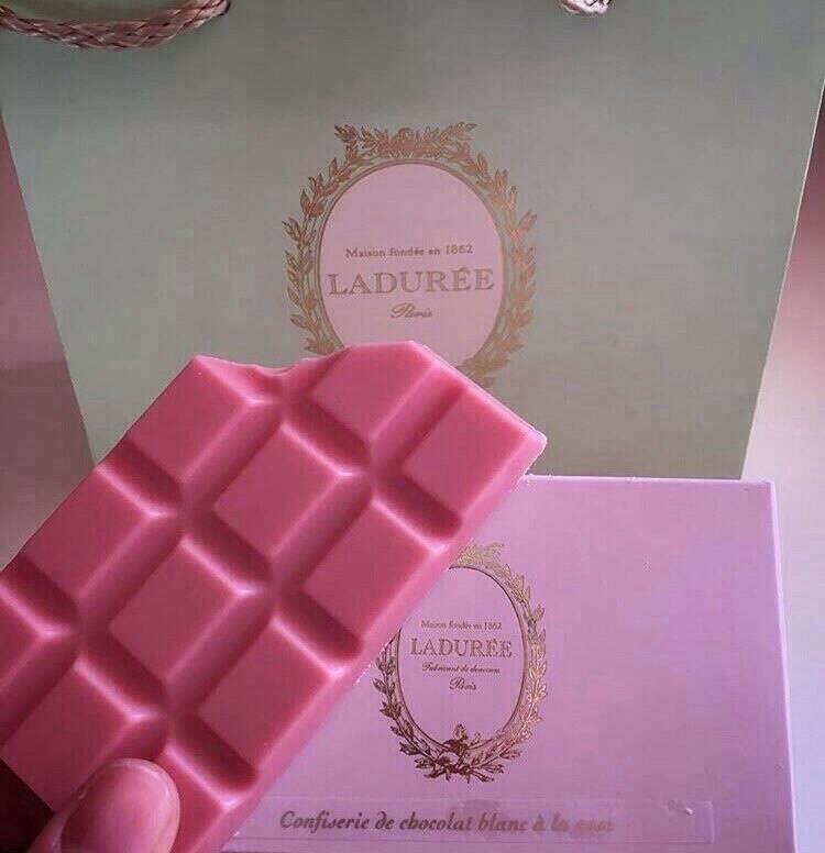 клубничный шоколад laduree
