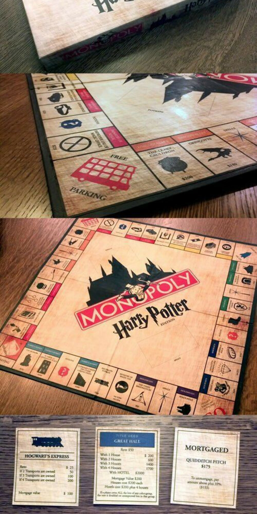 Монополия Harry Potter edition