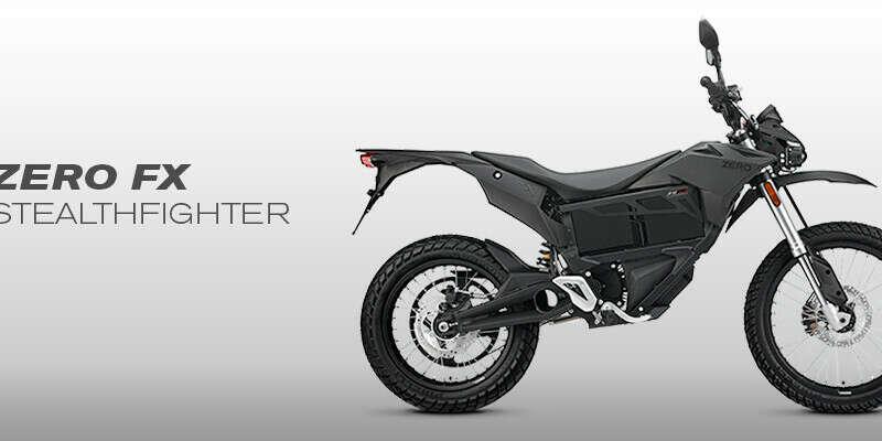 Эко-мотоцикл Zero fx