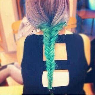 Хочу Цветные Волосы