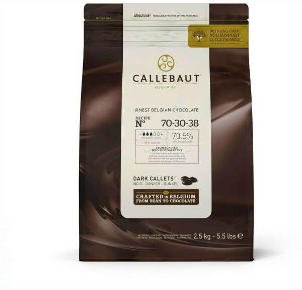 2, 5 кг горького шоколада Callebaut